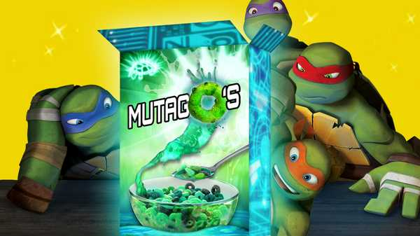 "Teenage Mutant Ninja Turtles: ""Mutago's Cereal"""