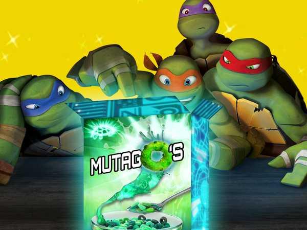 """Teenage Mutant Ninja Turtles: """"Mutago's Cereal"""""""