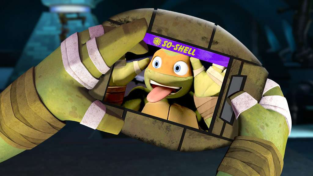 "Teenage Mutant Ninja Turtles: ""Mikey's So-Shell Feed!"""