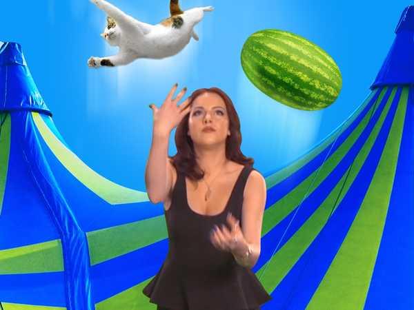 Liz Gillies Juggle Sesh!