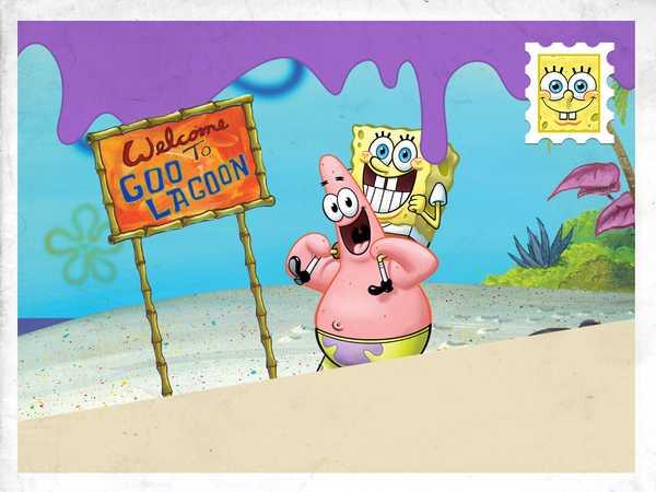 "SpongeBob Squarepants: ""Visit Goo Lagoon!"""