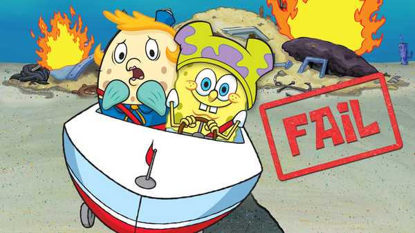 "SpongeBob Squarepants: ""SpongeBob's 5 Biggest Driving Fails"""