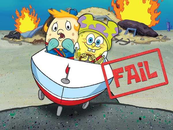 """SpongeBob Squarepants: """"SpongeBob's 5 Biggest Driving Fails"""""""