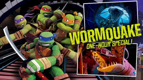 """Teenage Mutant Ninja Turtles: """"Wormquake!"""""""