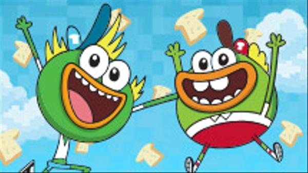 "Breadwinners: Beak Speak: ""Eat Bread"""