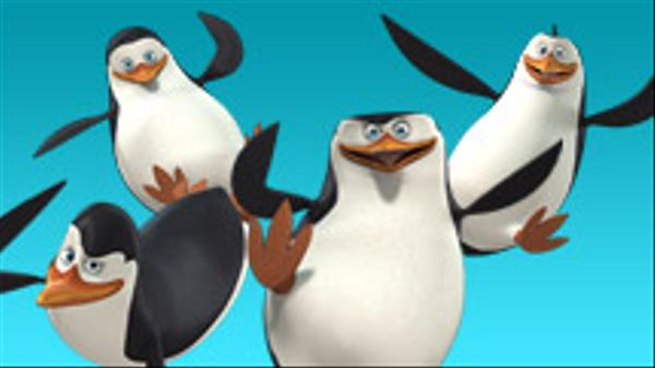 "Penguins of Madagascar: ""Antics on Ice"""