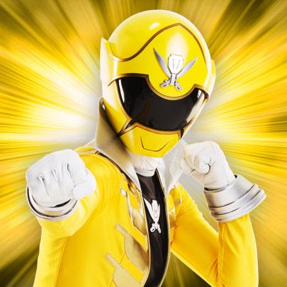 yellow power ranger megaforce-#22