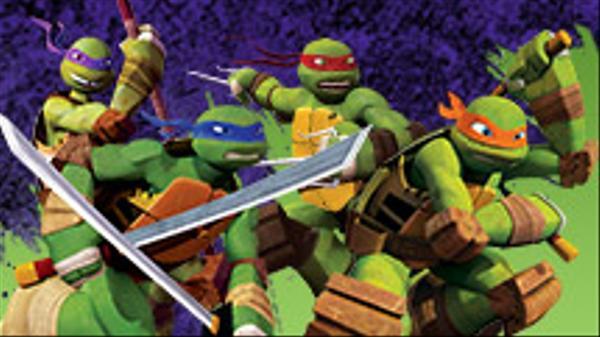 "Teenage Mutant Ninja Turtles: ""Mikey's So-Shell Feed!"""