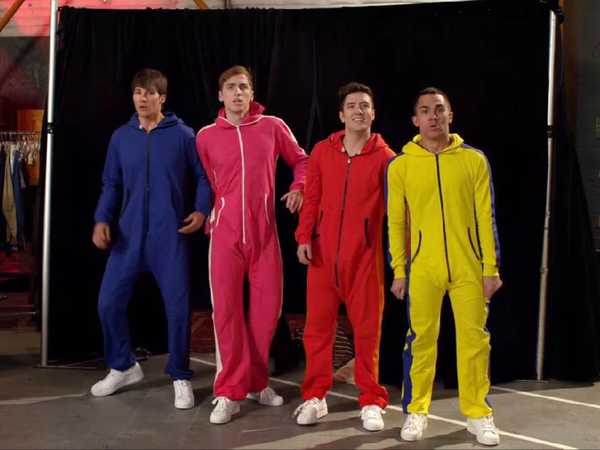 Big Time Rush: Costume Change