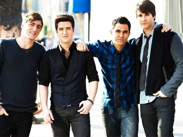 Big Time Rush: Macy's Pictures