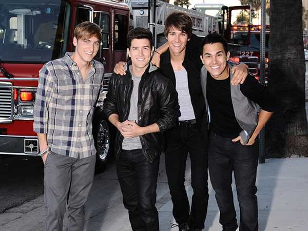 Big Time Rush at the VIVA Comet Awards