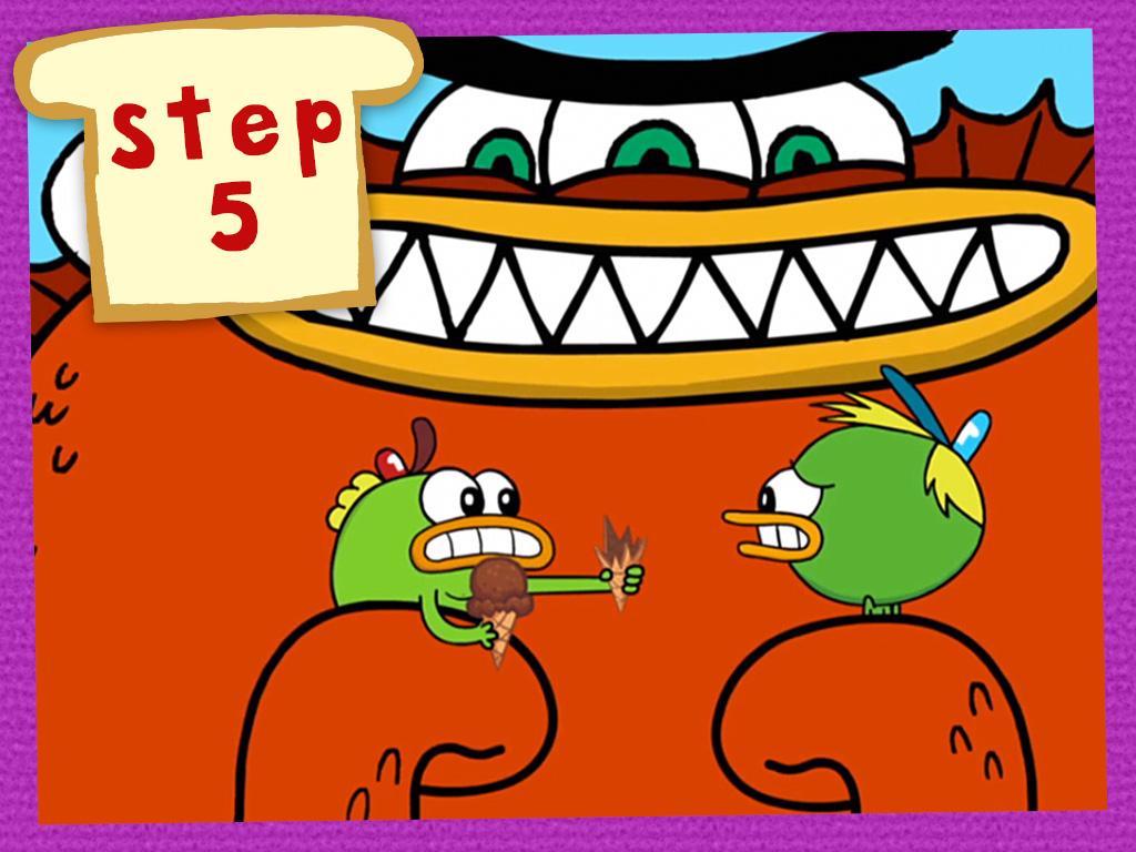 STEP 5: Get Them Ice Cream