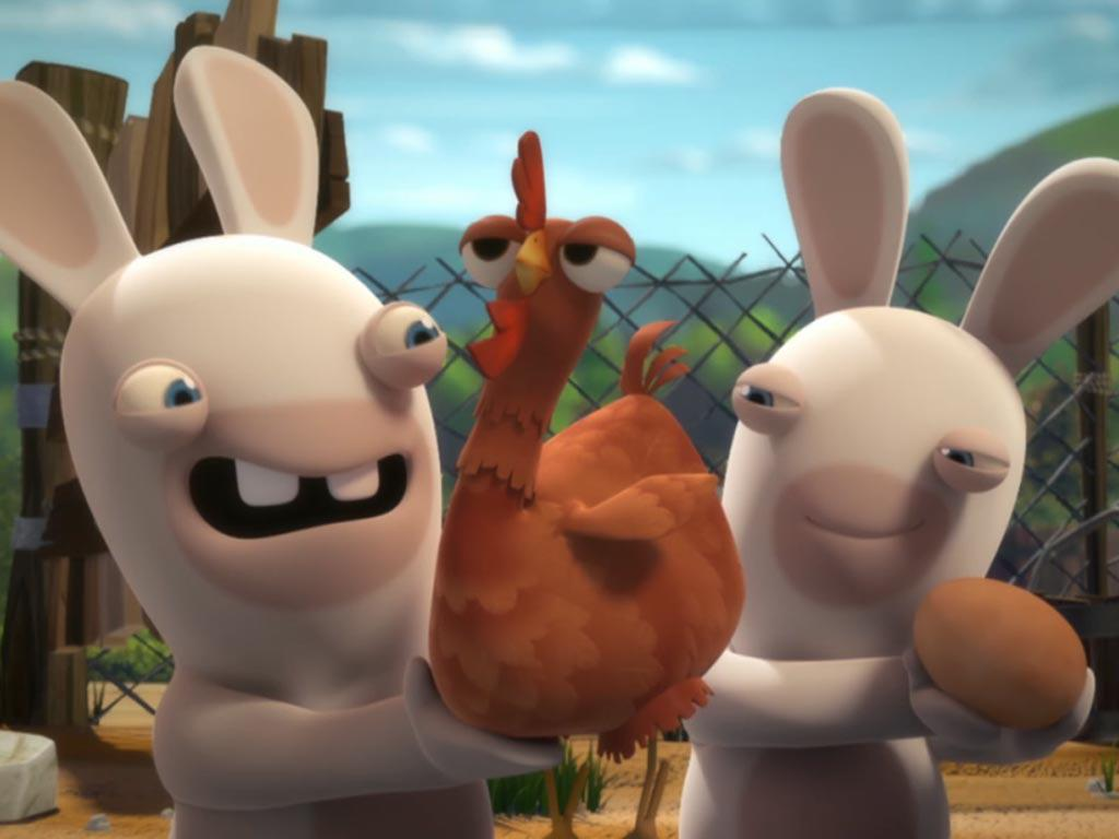 The Rabbids Invaded Earth