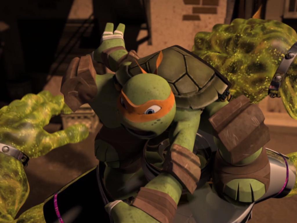 The Turtles Met Mutagen