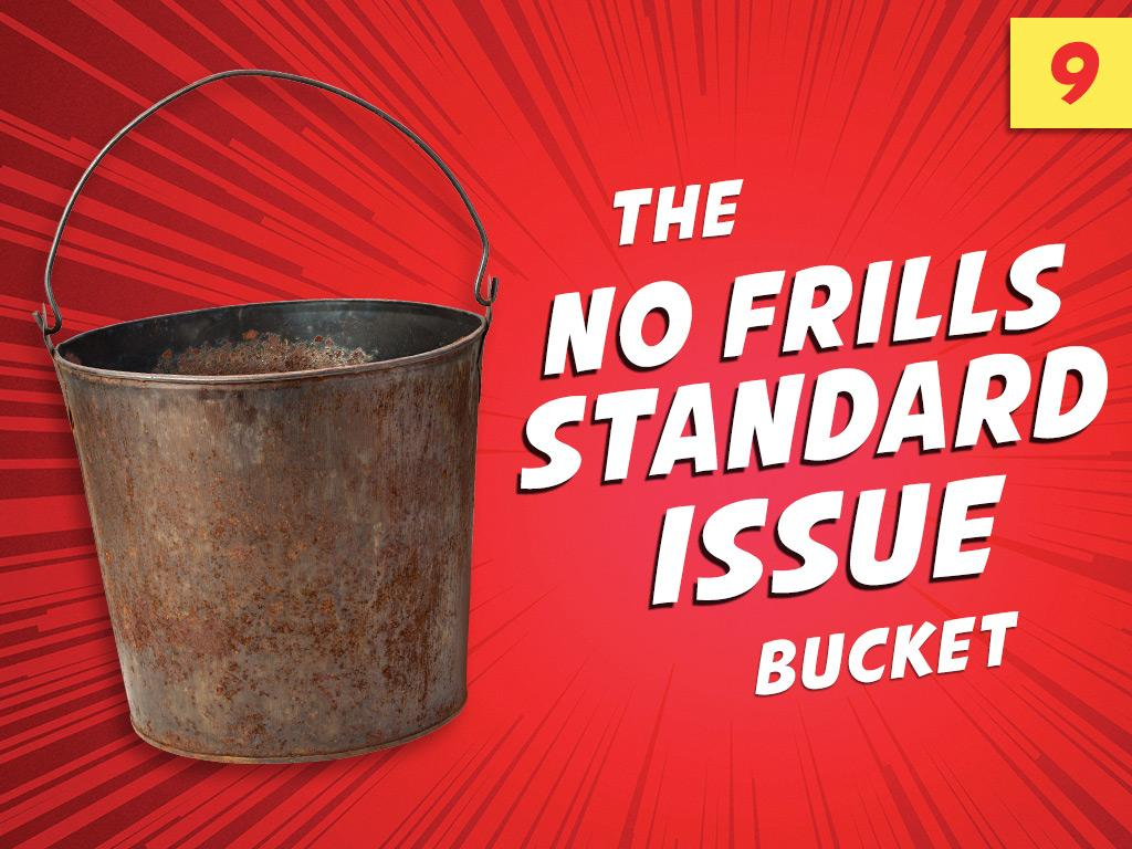 9. The No Frills Standard Issue