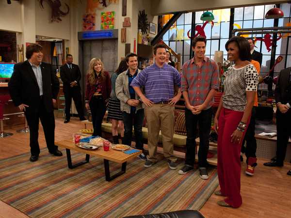 iCarly: iMeet the First Lady