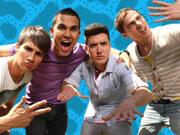 Big Time Rush Sweeps Winner Pictures