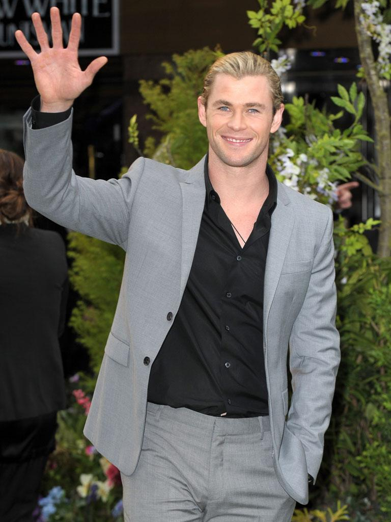 Chris Hemsworth!