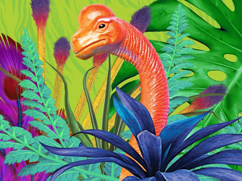 Shy-nosaur