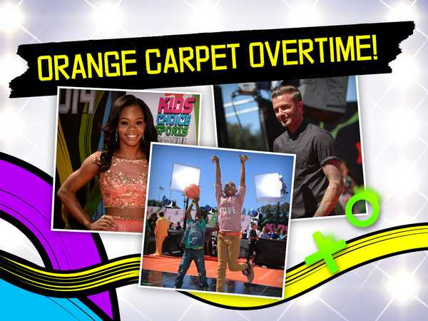 Best Orange Carpet Moments!