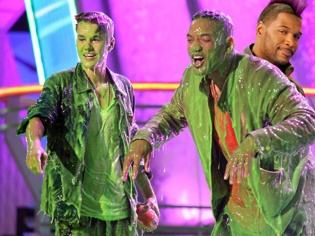 If you like slime... then you'll love Kids' Choice Sports!