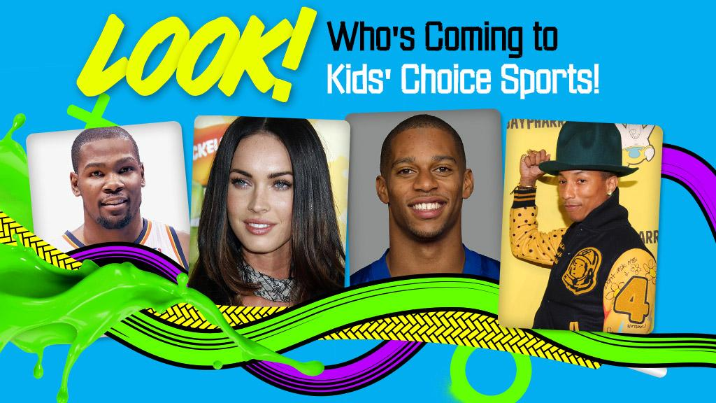 2014: Look Who's Coming to Kids' Choice Sports!