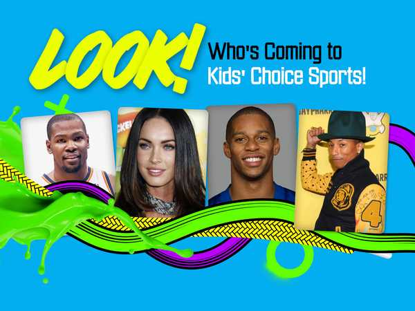 Kids' Choice Sports: Look Who's Coming to Kids' Choice Sports!