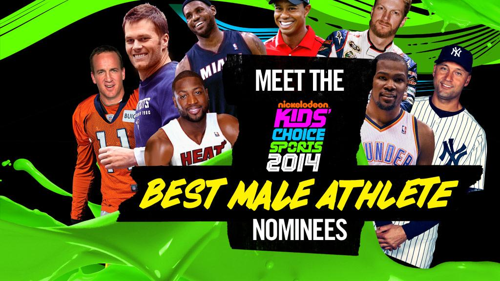 2014: Best Male Athlete Gallery!