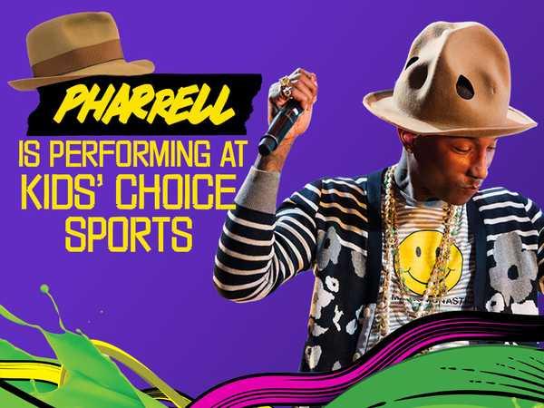 Kids' Choice Sports: The Many Hats of Pharrell