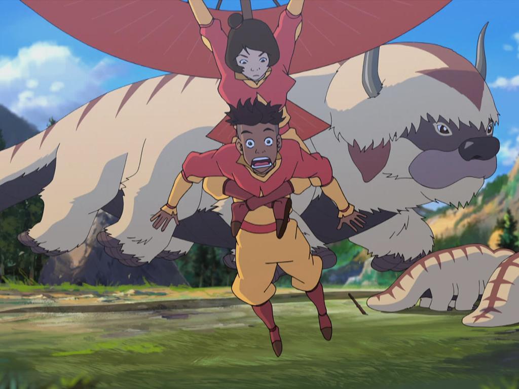 6. When Jinora Saved Kai... Again