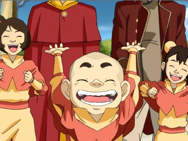 Legend of Korra: Tenzin's Tykes!