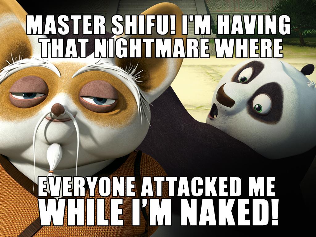 Master Shifu!