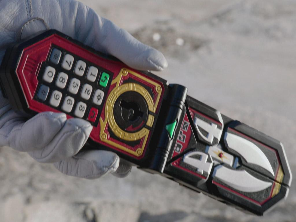 Power Rangers Super Megaforce: Gear Gallery