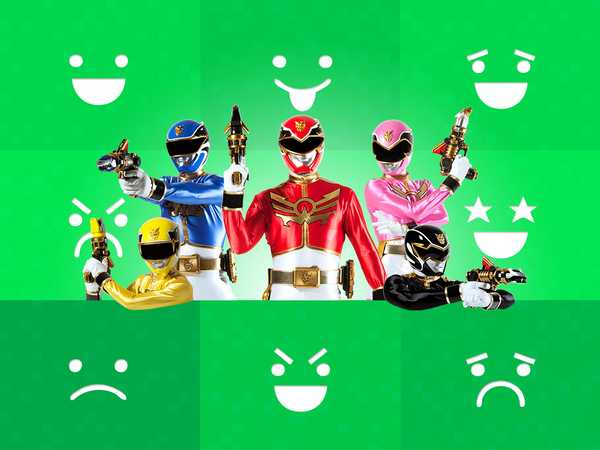 Say It With: Power Rangers GIFs!