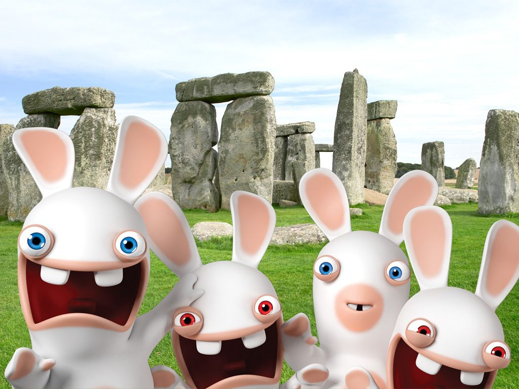 Rabbids Discovered Invasion Wallpaper