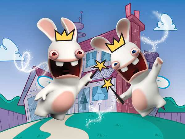 Rabbids Invasion: Rabbids Go Orange!
