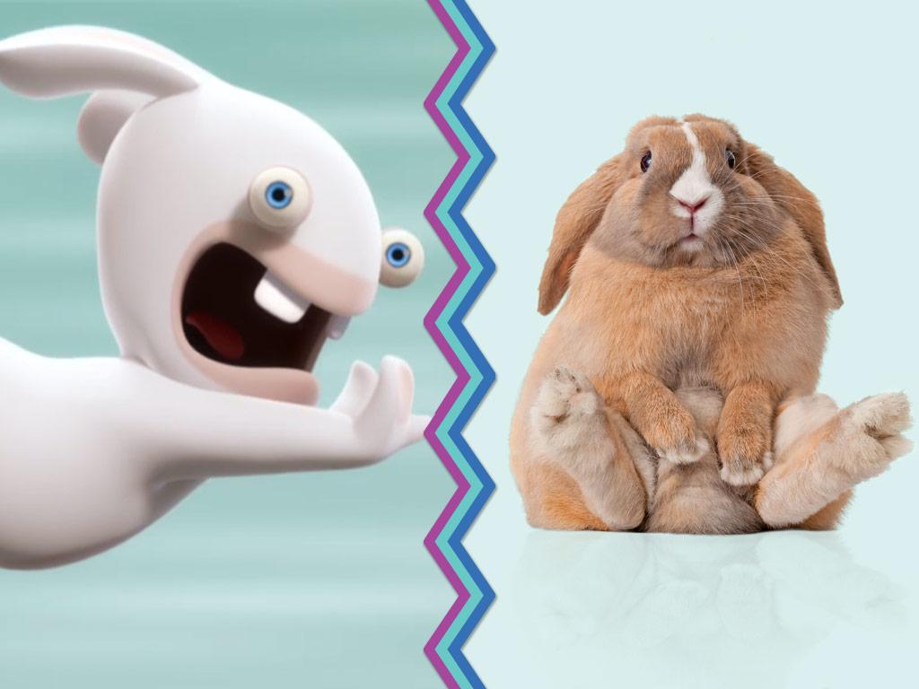 Earth Rabbits vs. Alien Rabbids