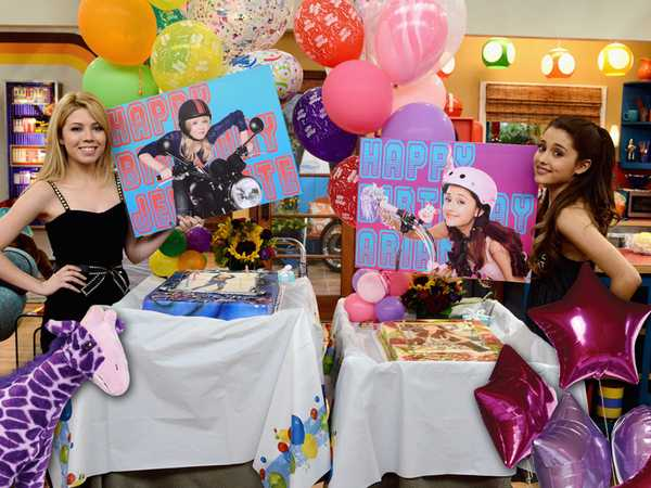 Happy Double Birthday Jennette and Ariana!