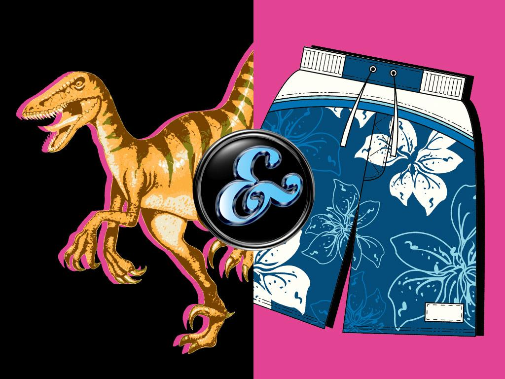 Dinosaurs & Shorts!