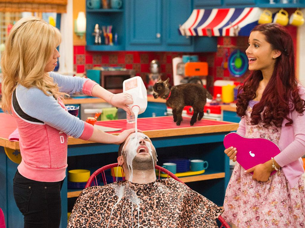 Sam & Cat Hearts Pygmy Goat