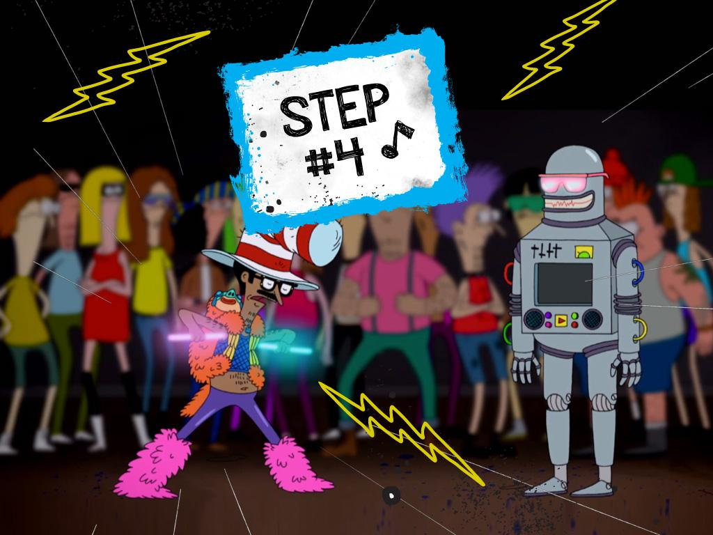 STEP 4: Practice Your Moves