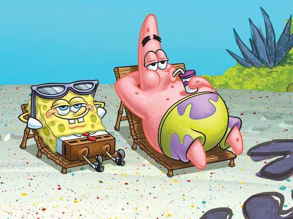 SpongeBob SquarePants: Sponge-Cation Time!
