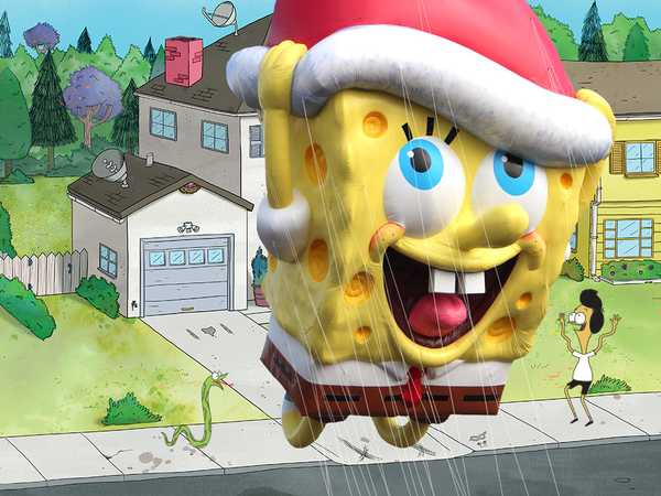 SpongeBob SquarePants: The Traveling SpongeBob Balloon!