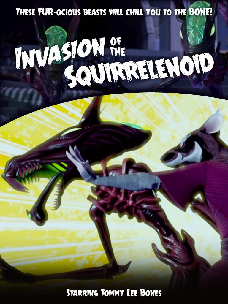 THE SQUIRRELENOIDS