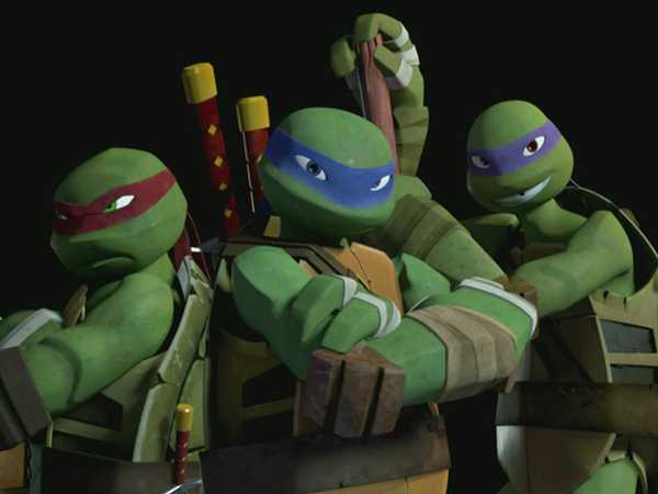 TMNT: Learn The Moves!