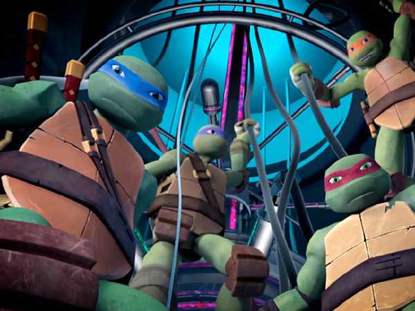 TMNT: Turtles in Action