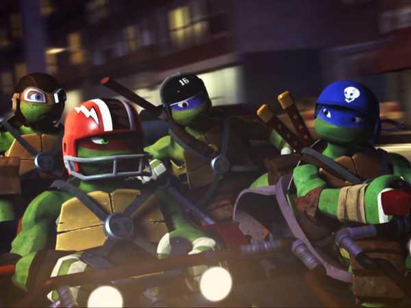TMNT: Turtles on the Move!