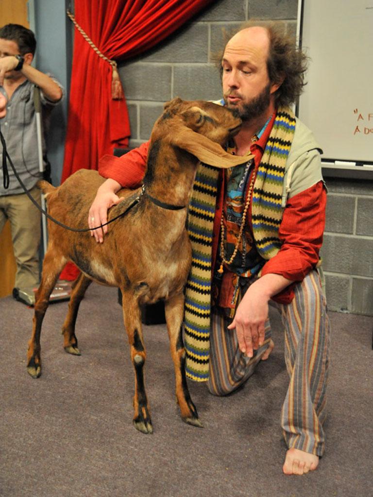 Kissy Goat