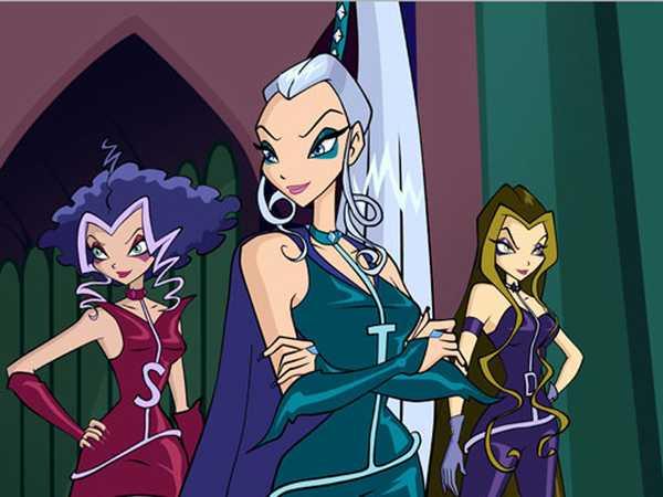 Winx: The Evil Trio of Trix