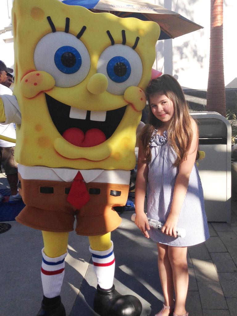 Hangin' with SpongeBob